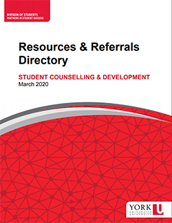 PDF directory of Resources & Referrals
