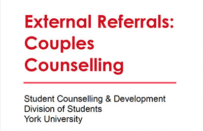 Couples Referrals