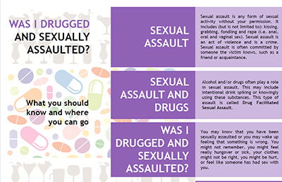 Was I Drugged and Sexually Assaulted?